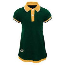Outerstuff Green Bay Packers Girls Lil Cheer Coach Dress