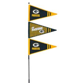 Evergreen Enterprises Green Bay Packers Pennant Windspinner