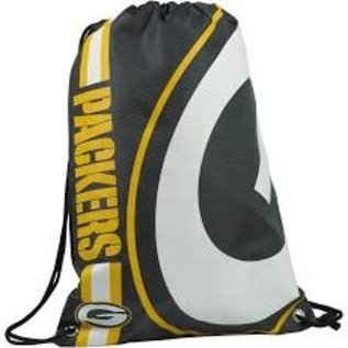 Forever Collectibles Green Bay Packers Big Logo Drawstring BackPack