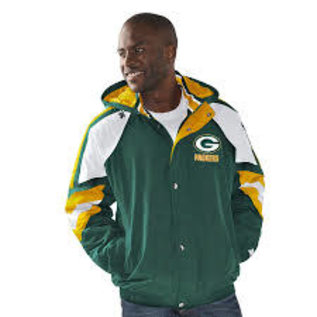 G III Green Bay Packers Men's The Pro Hooded Jacket
