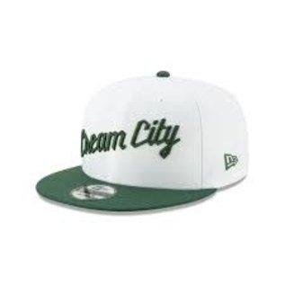 Milwaukee Bucks 9-50 White Cream City Adjustable Hat