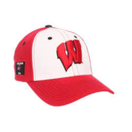 Zephyr Wisconsin Badgers Panama Adjustable Hat
