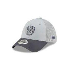 New Era Milwaukee Brewers 39-30 Alt 2 Gray Neo Hat