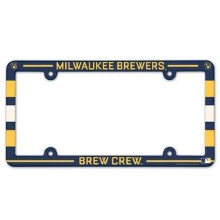 Milwaukee Brewers Slogan License Plate Frame