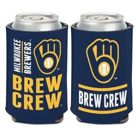 WinCraft, Inc. Milwaukee Brewers 2-Sided Can Cooler