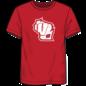 Fanatics Wisconsin Badgers Men's Iconic Cotton Team State Pride Short Sleeve Tee
