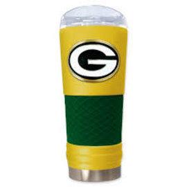 Green Bay Packers 24oz Powder Coated Draft Tumbler