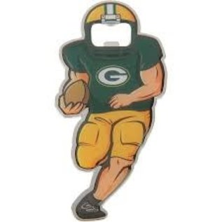 Green Bay Packers Magnetic Football Player Bottle Opener