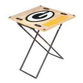 Evergreen Enterprises Green Bay Packers Folding Armchair Table