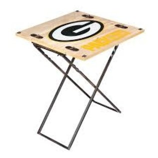 Evergreen Enterprises Green Bay Packers Folding Armchair Table
