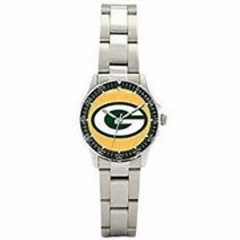 Gametime Watches Green Bay Packers Womens Silver Band Watch