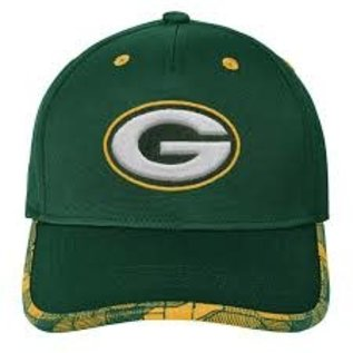 Outerstuff Green Bay Packers Youth Magna Sideline Adjustable Hat