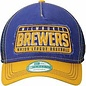 New Era Milwaukee Brewers 9-40 Truck Trip Adjustable Hat
