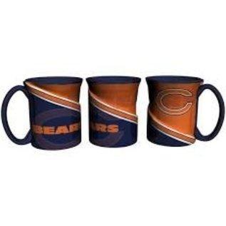 Boelter Brands LLC Chicago Bears 18oz Sculpted Twist Coffee Mug