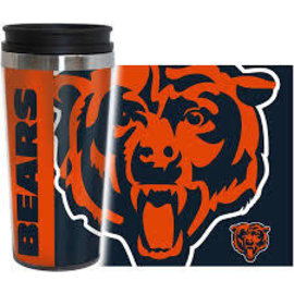 Chicago Bears 16oz Hype Travel Tumbler