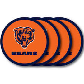 Chicago Bears Vinyl Coaster Set