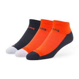 Chicago Bears Rush Low Cut 3 Packs Socks Size Medium