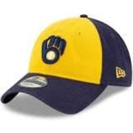New Era Milwaukee Brewers 9-20 Core Classic Rep Adjustable Hat