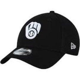 New Era Milwaukee Brewers 39-30 Neo Black and White 20 Hat