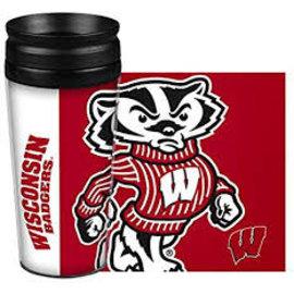 Boelter Brands LLC Wisconsin Badgers 14 Oz Hype Full Wrap Tumbler