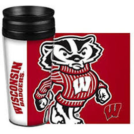 Wisconsin Badgers 14 Oz Hype Full Wrap Tumbler