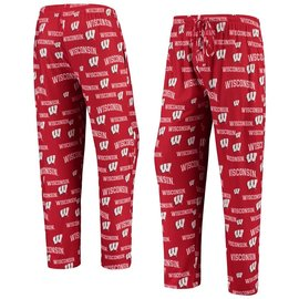 College Concepts LLC Wisconsin Badgers Men's Fairway All Over Print Pant