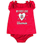 Colosseum Wisconsin Badgers Infant My First Love Onesie
