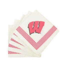 Gift Pro Wisconsin Badgers Dinner Napkins