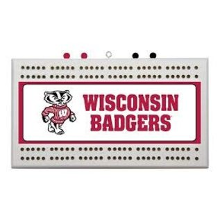 Rico Industries, Inc. Wisconsin Badgers Cribbage Board