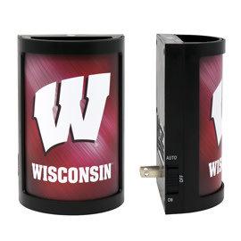 Wisconsin Badgers LED Night Light