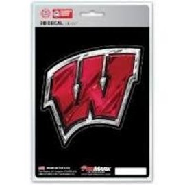 Promark Wisconsin Badgers 3D  Die Cut Decal