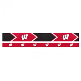 Little Earth Wisconsin Badgers Headband Set