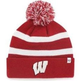 '47 Brand Wisconsin Badgers Breakaway Cuffed Knit Hat