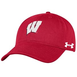 Under Armour Wisconsin Badgers Men's Under Armour Twill Adjustable Hat