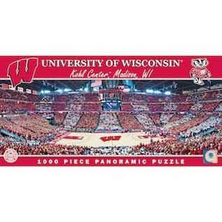 Wisconsin Badgers 1000 pc Kohl Center Panoramic Puzzle