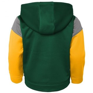 Green Bay Packers Youth Blocker Full Zip Hoodie and Pant Set