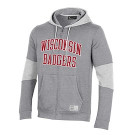Wisconsin Badgers Men's Gameday Terrain Full Zip Hoodie