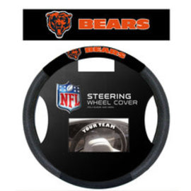 Fremont Die Chicago Bears Poly-Suede Steering Wheel Cover