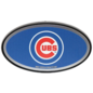 Great American Products, LTD Chicago Cubs Plastic Hitch Cover