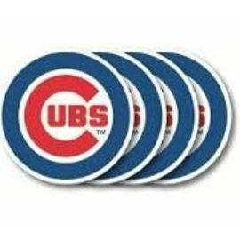 Duck House Chicago Cubs Vinyl Coasters - Set of 4