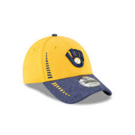 New Era Milwaukee Brewers 9-40 NE Speed Tech 2 Adjustable Hat