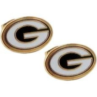 Gift Pro Green Bay Packers Tiny G Post Earrings