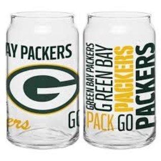 Boelter Brands LLC Green Bay Packers 16oz Spirit Glass Can