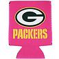 Kolder Green Bay Packers Pink Can Cooler