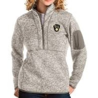 Antigua Milwaukee Brewers Women's Fortune 1/4 Zip