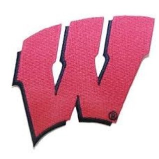 Wisconsin Badgers W Sew on/Heat Seal Patch