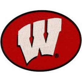 Gift Pro Wisconsin Badgers Embroidered Peel & Stick Patch