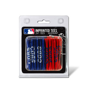 Chicago Cubs Golf Tees - 50 count