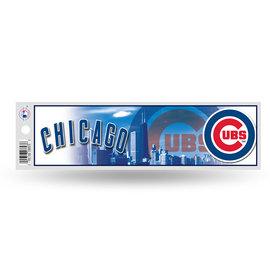 Rico Industries, Inc. Chicago Cubs Bumper Sticker