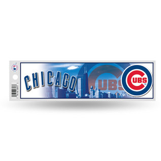 Rico Industries, Inc. Chicago Cubs Bumper Sticker